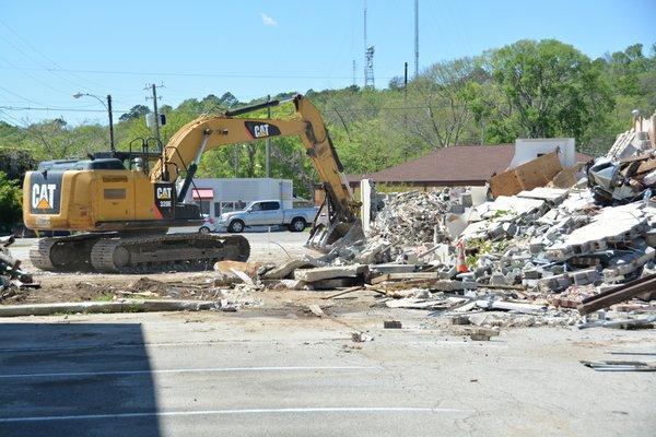 Demolition on 18th Street