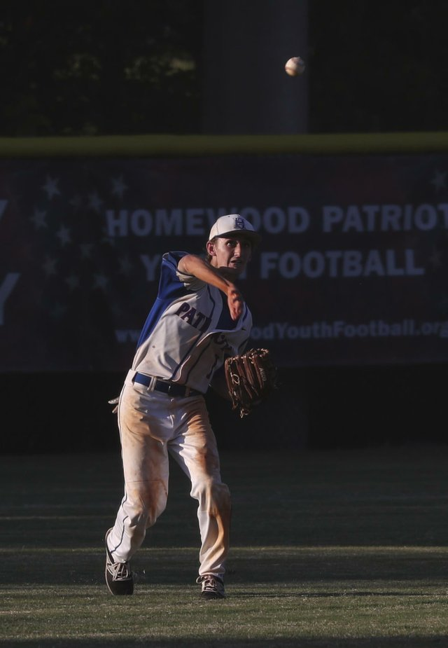 Homewood Baseball VS Oxford 2017