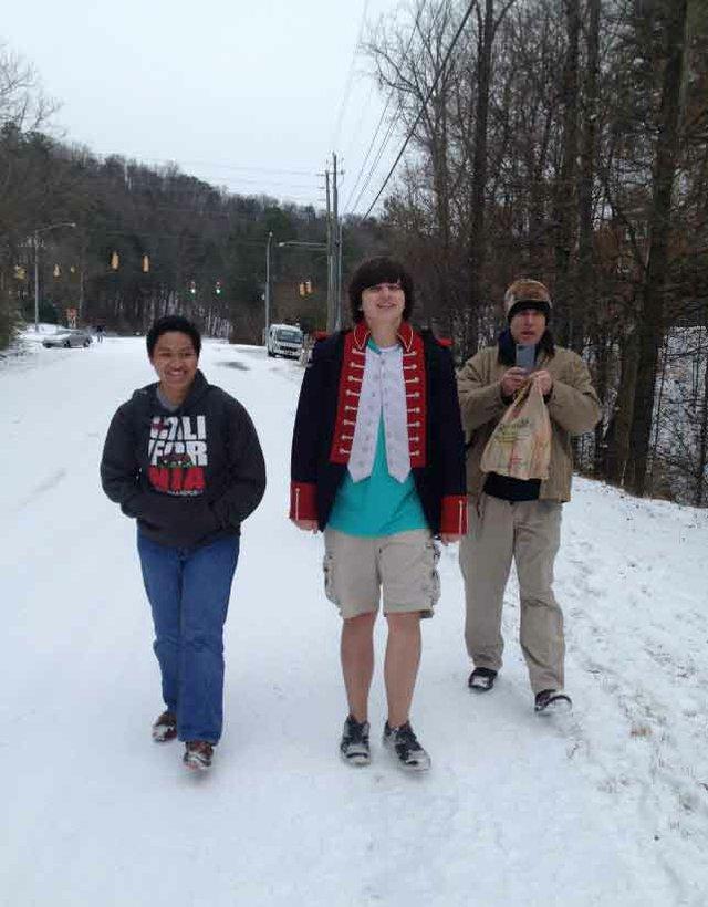Snow Day Kimbrell