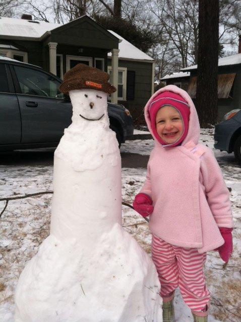 Snow Day  Denton Vertical