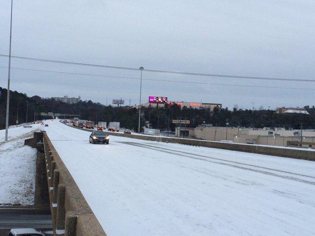 Interstate 65 Snow Day