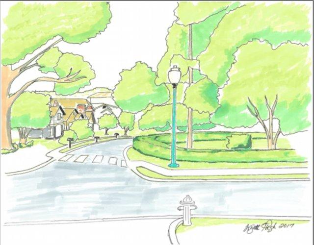 Mayfair-Roxbury intersection