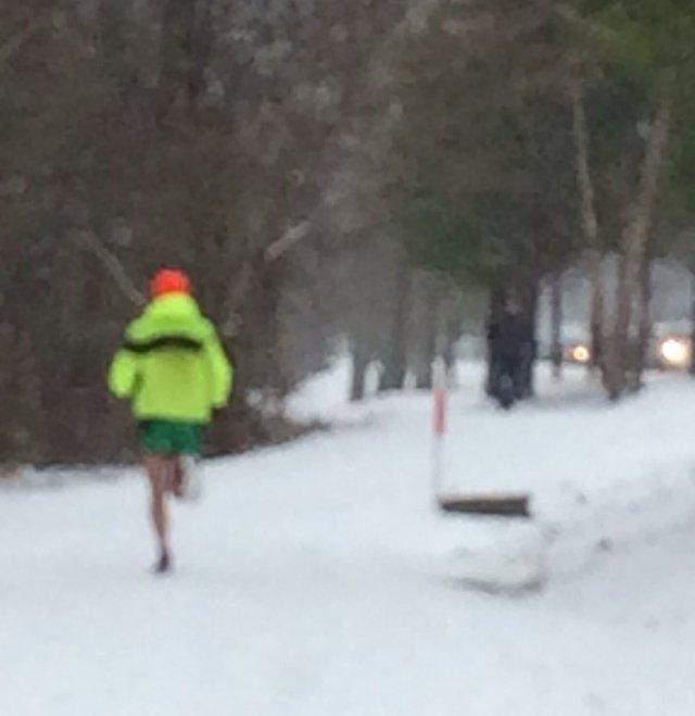 Lakeshore Trail runner