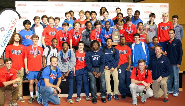 Boys Indoor State Champs 2014