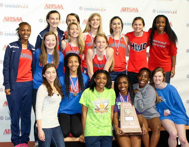 Indoor Track Girls State 2014
