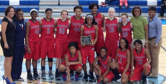 HHS Lady Patriots Basketball 2014