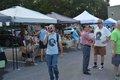 A row of vendors