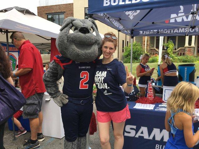 Samford mascot