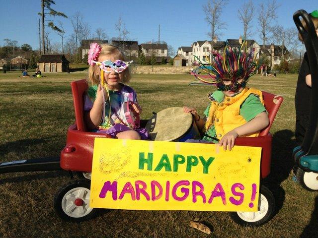 Children's Mardi Gras Parade