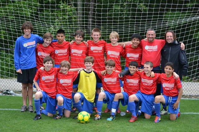 0712 U13 Soccer Team