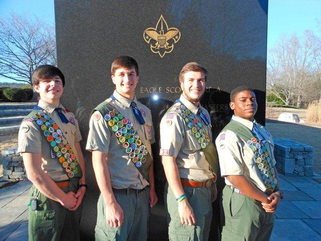 Eagle Scouts April 2014