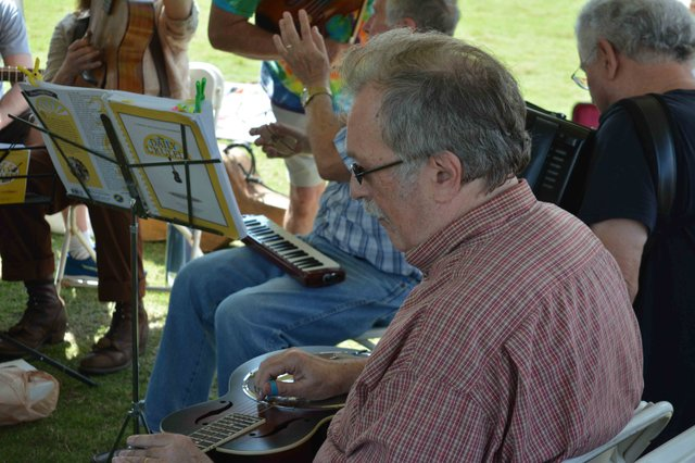 Old-fashioned musical craft