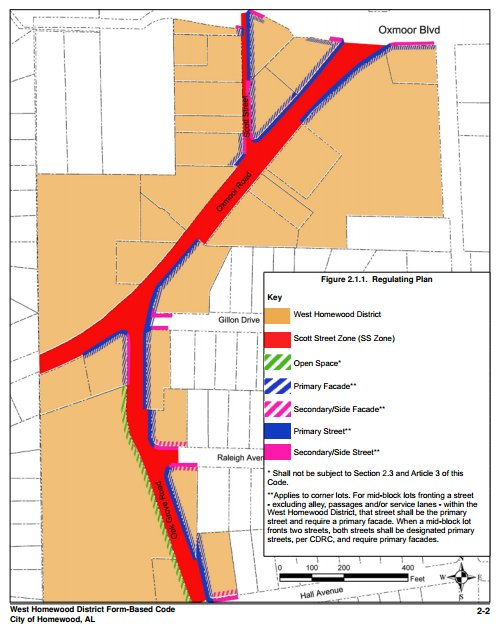 West Homewood District rezoning