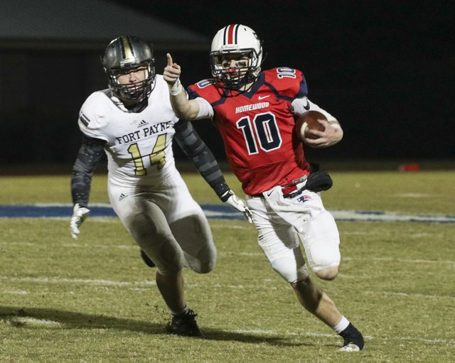 Homewood VS Fort Payne Football Playoffs