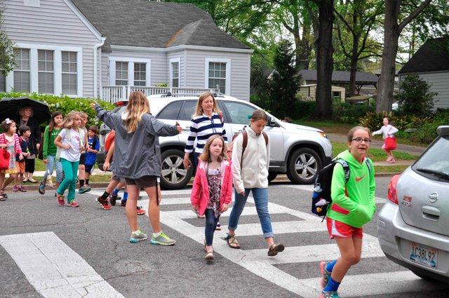 Edgewood Elementary Crosswalk