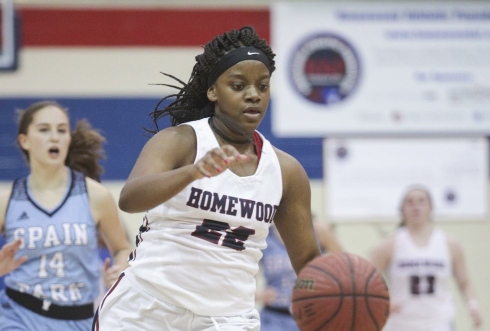 Homewood VS SPHS Girls Basketball