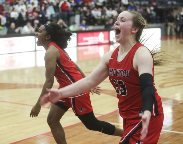 Homewood Girls Basketball Regionals