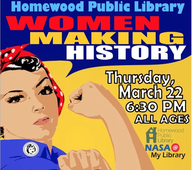 Women Making History at Homewood Public Library
