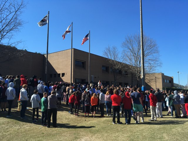 Homewood High School Walkout