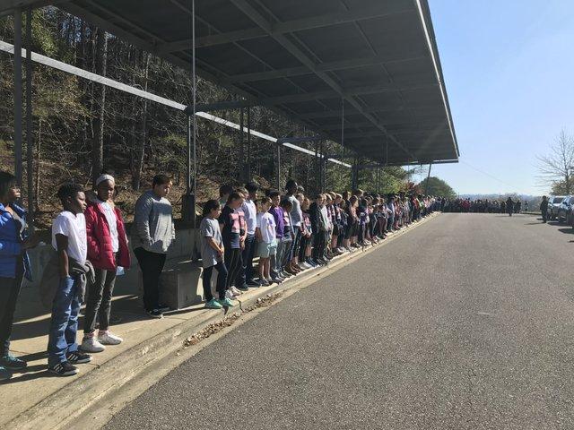 Homewood student walkout