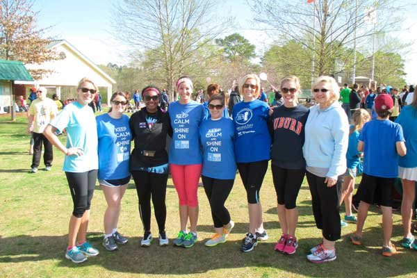 Hall-Kent walk for autism
