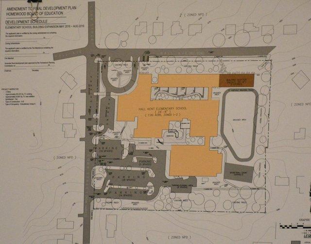 Hall-Kent Elementary addition