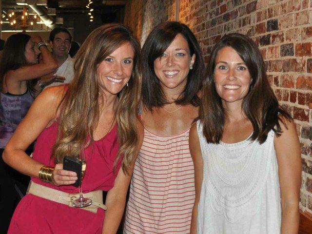 Ladies enjoy Wine Down
