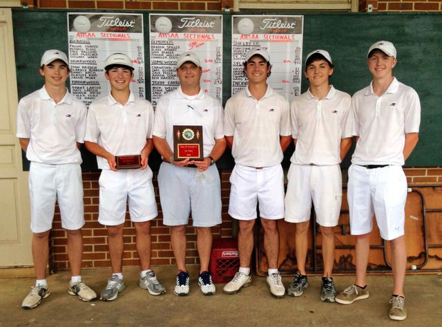HHS golf champs
