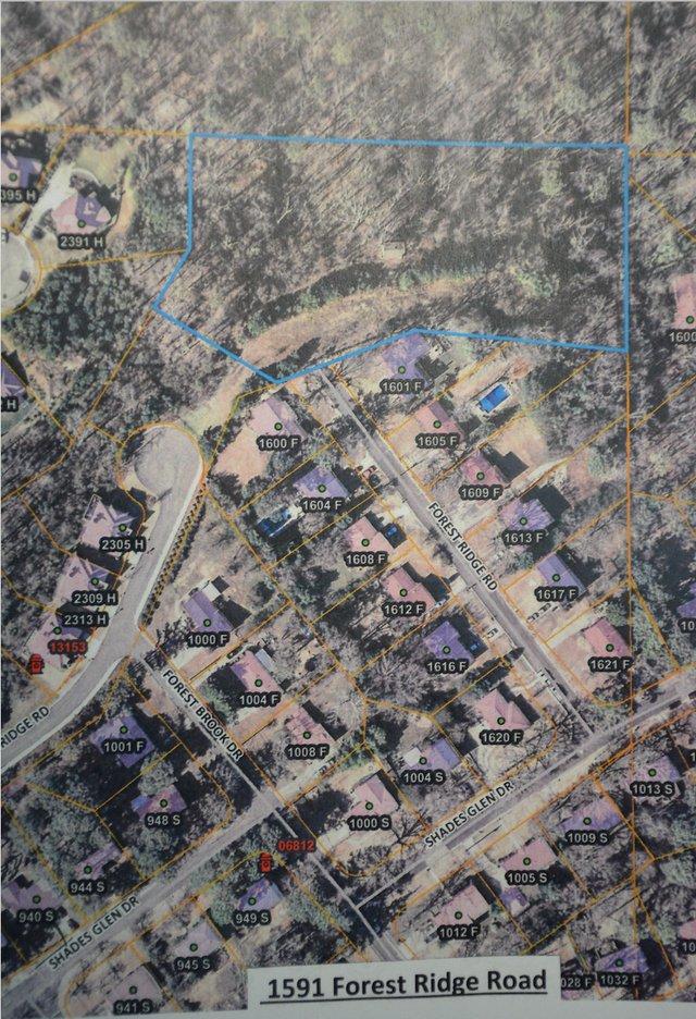 Forest Ridge Road subdivision