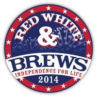 Red, White and Brews