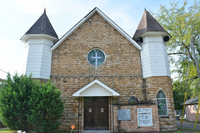 Union Missionary Baptist Church has held services in the same building in Rosedale since 1887.