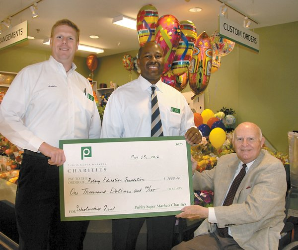 Homewood Rotary scholarship from Publix