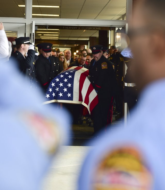 Homewood Fire Chief funeral