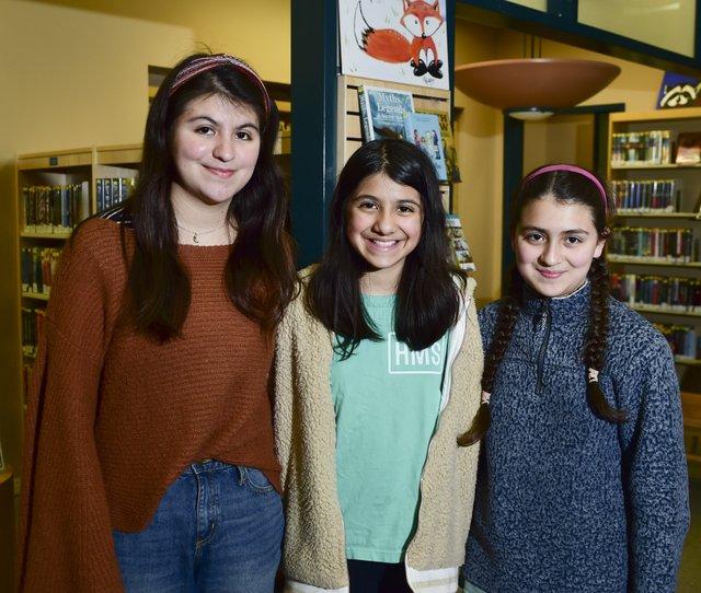 Teen Advisory Board sisters