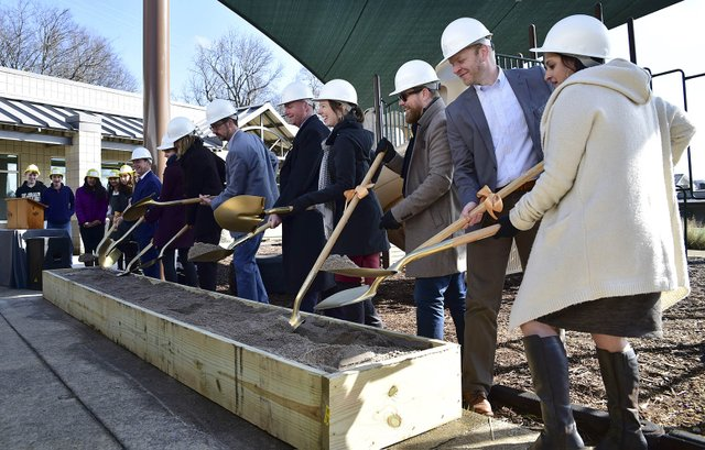 Creative Montessori School groundbreaking