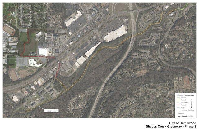 Phase 2 of Shades Creek Greenway