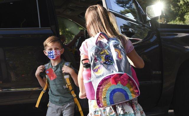 First Day of School - Oak Mountain Elementary