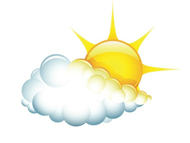Weather partly sunny