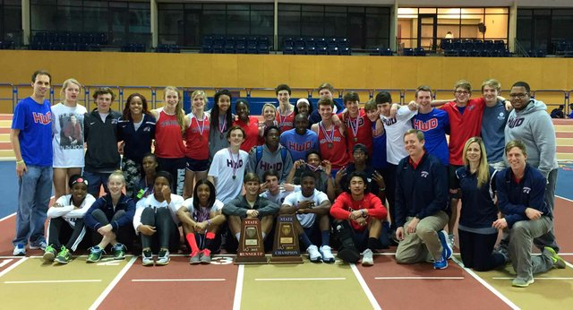 Indoor Track State Champs 2015