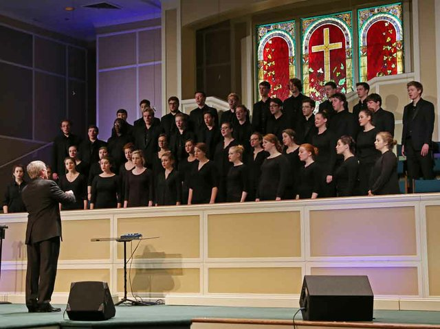 Samford University's A Cappella Choir