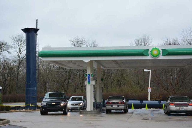 BP Station Pole Lakeshore