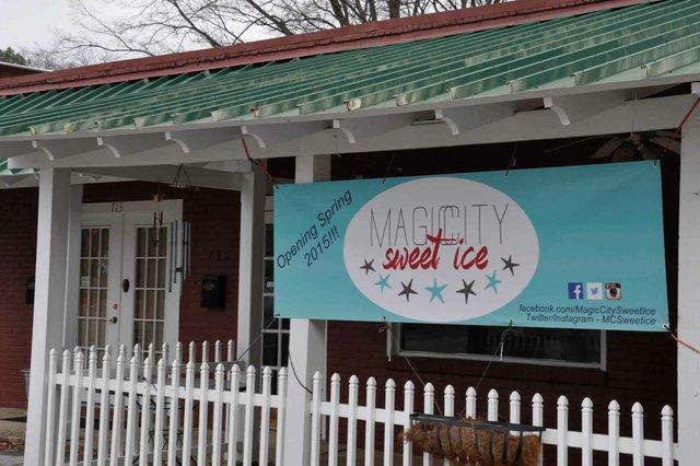 Magic City Sweet Ice Exterior