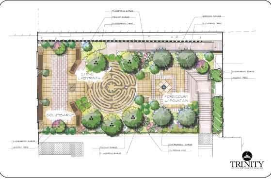1112 Trinity Prayer Garden Plan