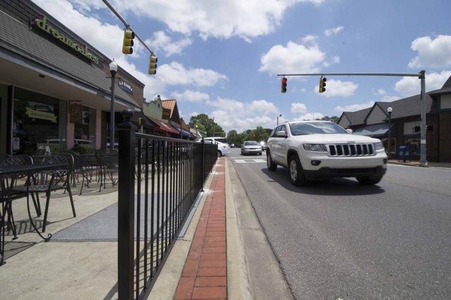 Edgewood Pedestrian Fence
