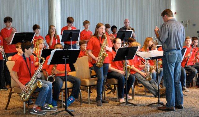 1212 Homewood Middle Jazz Band Homewood Annual Meeting