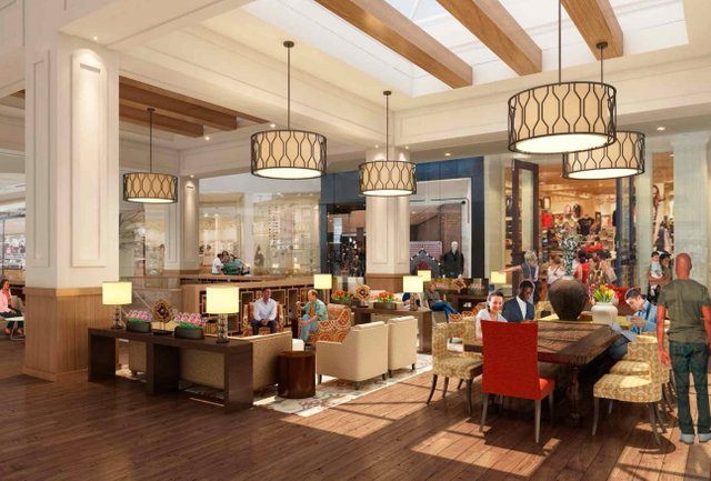 Brookwood Village Interior Renovation Rendering