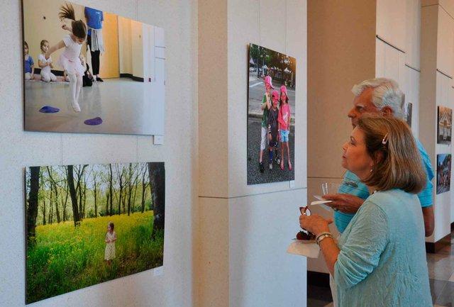 Homewood Art Gallery Opening