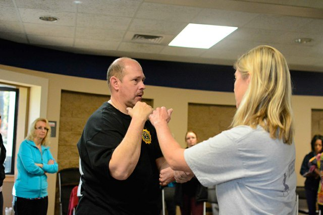 Library Self Defense Class