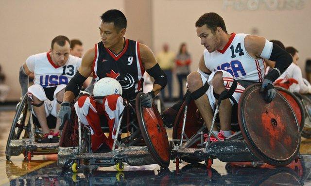 Team USA Wheelchair Rugby