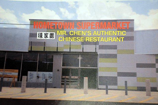 Hometown Market and Mr. Chen's Restaurant